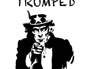 """Giclée print """"Trumped - Sam"""", limited edition of 10 from the series """"Trumped"""" by art news"""