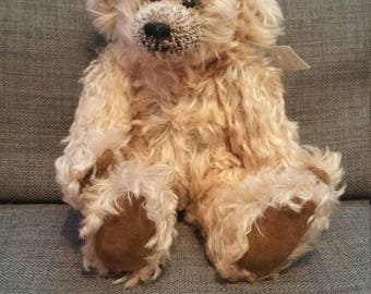 Hand-made One-of-a-kind Collector's Mohair Teddy Bear