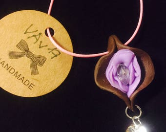 Vagina vulva Flower Necklace