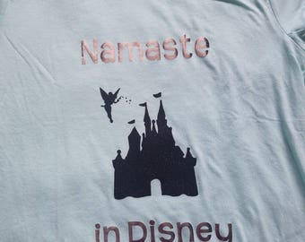 Namaste in Disney shirt