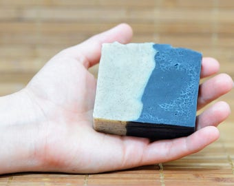 Purifying Zebra activated charcoal  bar soap