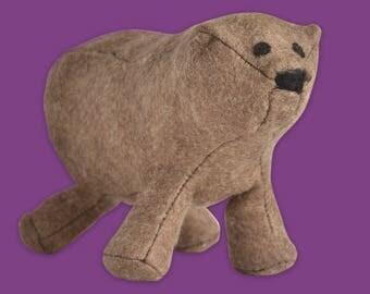 DIY plush Pooh felt sewing kit