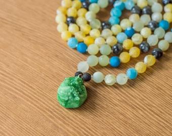 Llyr Mala Meditation Necklace