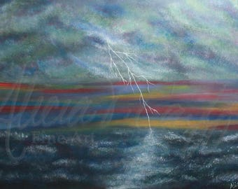 Storm Brewing - Limited Edition Giclée Print