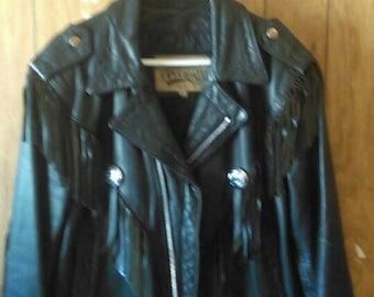 Open Road Vintage Leather Jacket