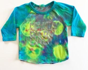 Fireflies Tie Dye raglan shirt