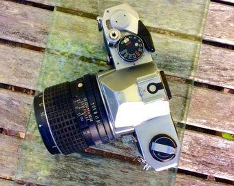 1976 Pentax-MX-35mm-SLR-Film - w/SMC Asahi Pentax Macro lens 1:4/50