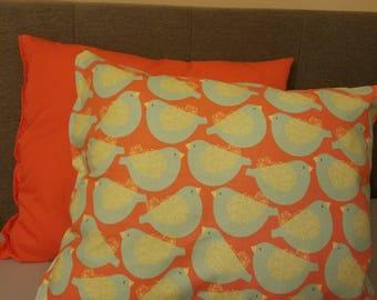 Orange Decorative Pillow