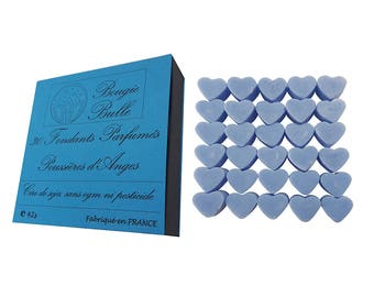 30 fondant scented burning wax from soy natural perfume angel dust