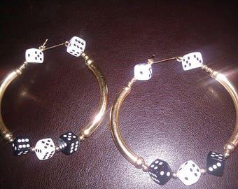 14 Kt Gold Filled Bangle Earrings
