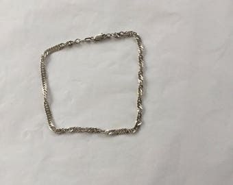 Quality Sterling Silver Chain Braclet