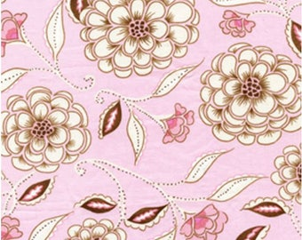 SALE Leanika Rose Cotton Fabric - Dena Designs - Free Spirit Fabrics