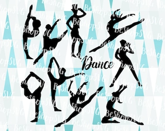 Dancers SVG, Dancers bundle SVG, Ballet Svg, Performers SVG, Ballerina SvG, Dancing SvG, Instant download, Eps - Dxf - Png - Svg
