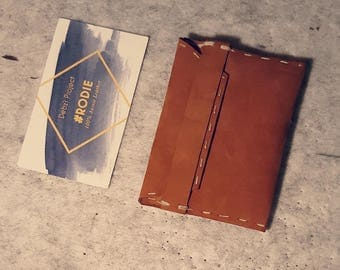 Customized Card and Cash Leather Holder ,for Wedding/ Party Souvenir