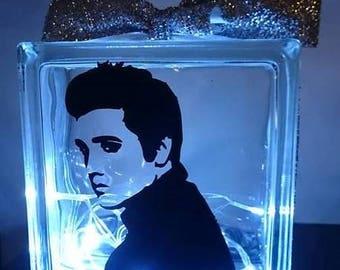 Elvis Presley Glass Light Block
