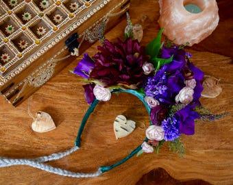 Flower crown, hand made