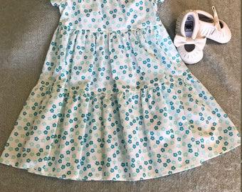 Toddler Girls Prairie Dress Size 3
