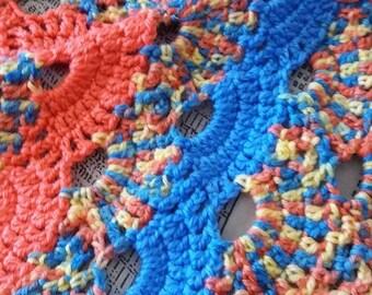 DK Crochet acrylic blanket