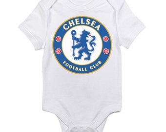 Chelsea Football Club FC Logo Baby Onesie