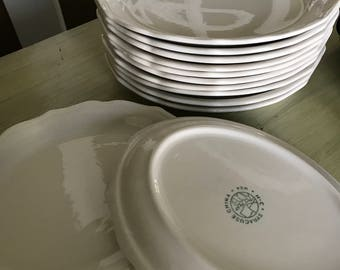 Syracuse China  Oval Plates - Set of 12