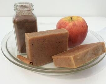 Apple Pie Goat's Milk soap