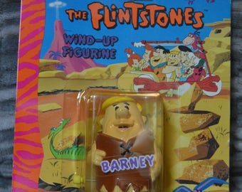 The Flintstones Barney Wind-up figure Hanna-Barbers