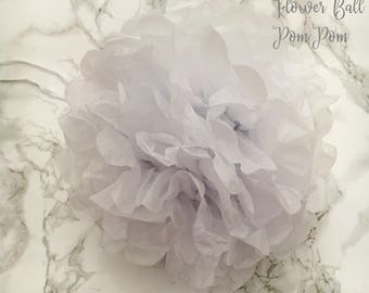 Large Tissue Paper Flower Ball Pom Pom