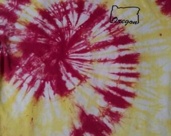Crispy red spirals