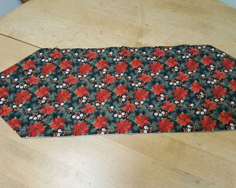 Christmas flowers table runners