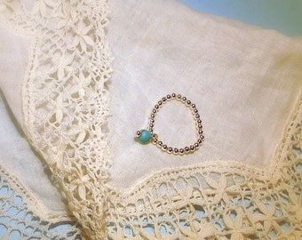 Silver ring 925 massif, and Turquoise
