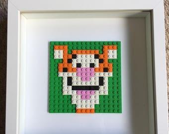 Winnie the Pooh Lego frames
