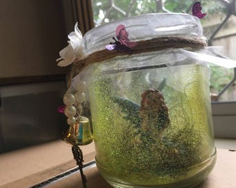 Fairy Trapped in a Jar