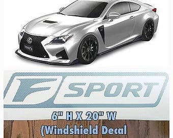 Lexus Sticker Etsy - Lexus custom vinyl decals for car