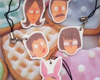 Bobs Burgers Charms