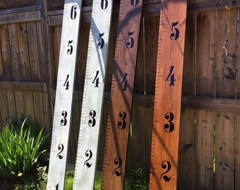Growth Charts, Wood Craft, HomeMade