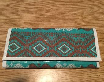 Aztec Wallet Clutch