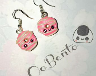 Kawaii Donut Earrings