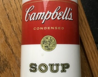 Vintage Aladdin Campbell's Soup Thermos 1970 Era