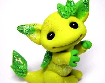 "OOAK Leaf Dragon Trollfling Troll ""Kirah"" by Amber Matthies"