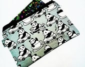 Panda going places, women wallet, credit card case, coin purse, id276301, portemonnaie, business cardholder , small zipper pouch