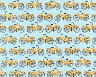 Fat quarter Sky Bicycles - Robert Kaufman, Mary Lake-Thompson Everyday Favorites cotton quilt fabric