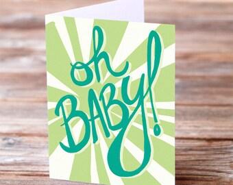 Custom Oh Baby card listing for nanopus