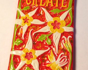 Create Columbine Art Tile
