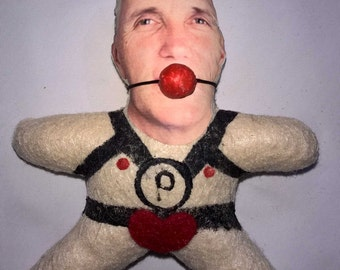 """The Voodoo Pence Doll Special Edition """"Bondage"""""""