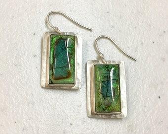 Monarch Opal Earrings