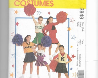 McCall's Children's Costumes Pattern 2849