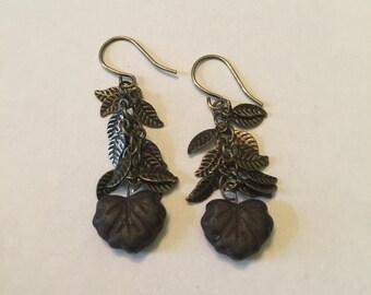 Last Leaf of Autumn Earrings