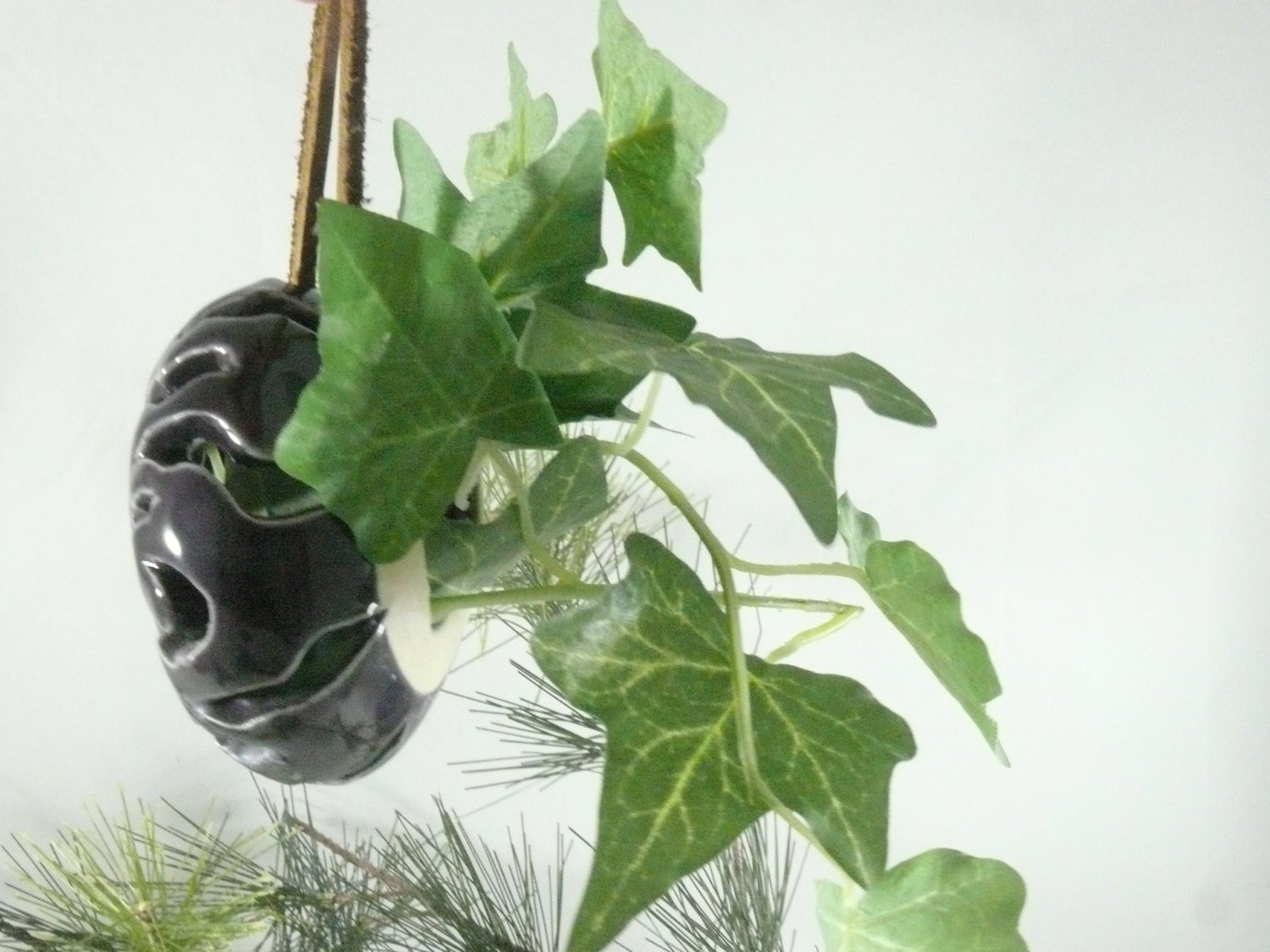 Wall Sconce Plant Holder : Air Plant Holder Christmas Ornaments Wall Sconce Tea Light