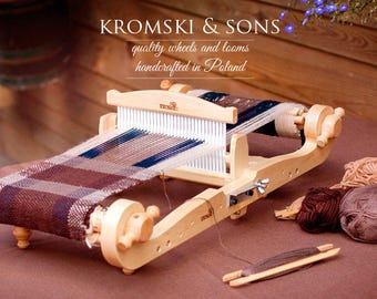 Rigid Heddle Loom The Harp Forte By Kromski 8 Inch Includes Stang Bag and Bonus Plus Free Shipping
