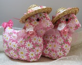 SPRING EASTER Decor, Just a Couple of Chicks, Easter Chicks, Bowl Fillers, Basket Stuffers, Tuck In's